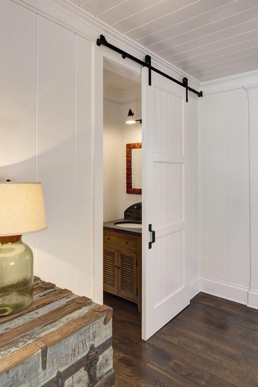 Interior Barn Door Burmeister Woodwork Company Hales Corner Wisconsin 53130